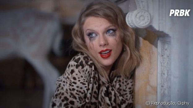 """Taylor Swift dando a louca em """"Blank Space"""""""