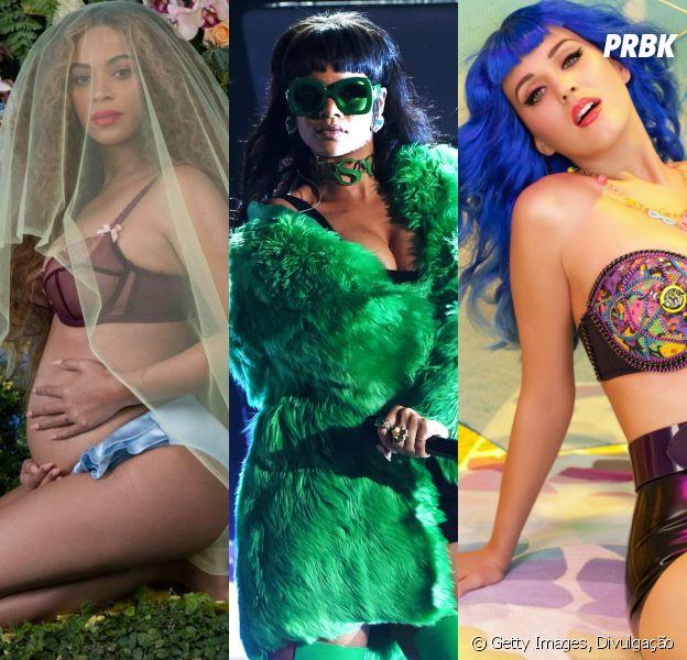 Beyoncé, Rihanna, Katy Perry e mais divas que você pode imitar no Carnaval!