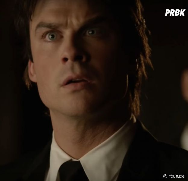 """Teaser do episódio final de """"The Vampire Diaries"""" mostra encontro de Elena (Nina Dobrev) e Damon (Ian Somerhalder)"""