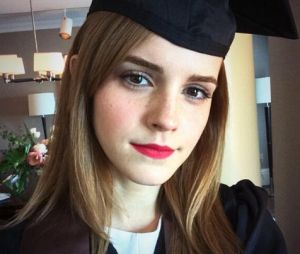 Emma Watson graduando na Universidade Brown!