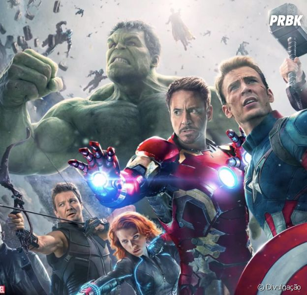 """Os melhores personagens da Marvel se juntam em """"Os Vingadores: A Era de Ultron"""""""