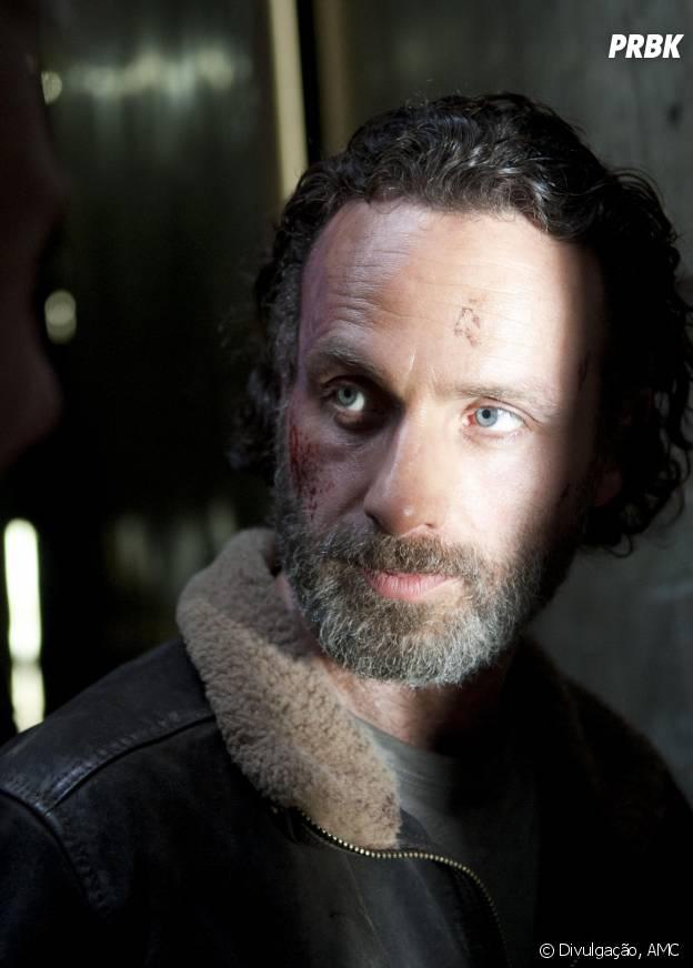 Será que Rick (Andrew Lincoln) vai sobreviver a tantas temporadas?
