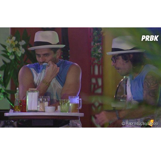 """No """"BBB17"""": Marcos se envolve em polêmica com Vivian e internautas não perdoam"""