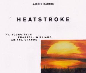 "Ariana Grande, Pharrell Williams e Calvin Harris lançam ""Heatstroke"""