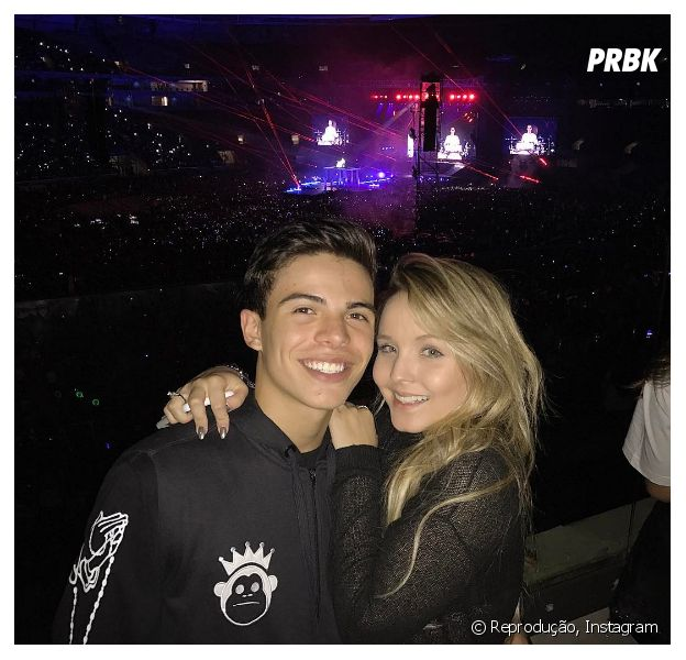 Larissa Manoela e Thomaz Costa estão ficando, mas não reataram namoro