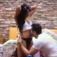 """Do """"BBB17"""", Emilly grávida? Marcos beija barriga da sister e internet vai à loucura!"""