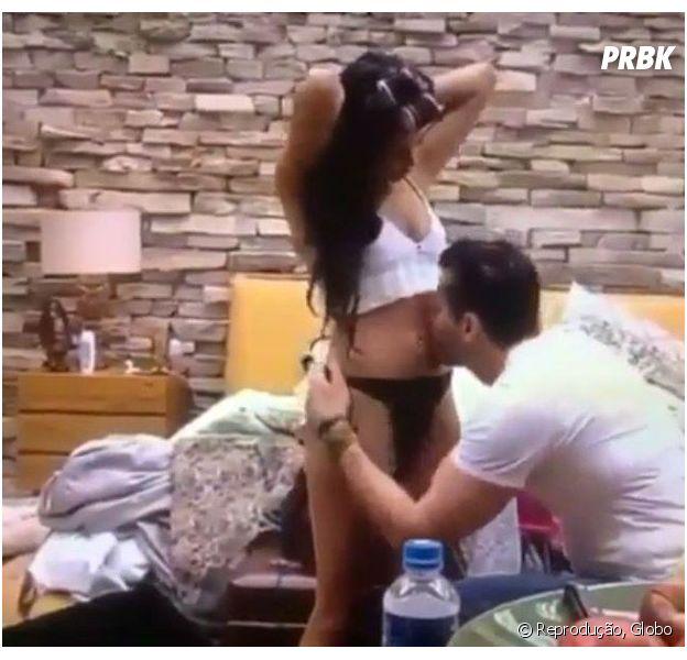 "No ""BBB17"", Emilly grávida? Atitude de Marcos levanta suspeitas!"