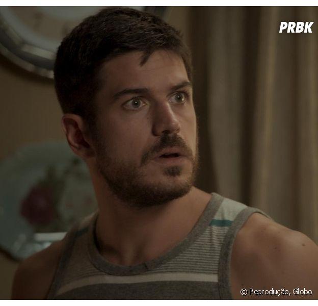 """Zeca (Marco Pigossi) vai se vingar de Ritinha (Isis Valverde), em """"A Força do Querer"""", novela da Globo"""