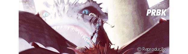 """""""Como treinar o seu dragão 2"""" tem animal que cospe gelo"""