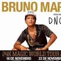 Joe Jonas e Bruno Mars vêm ao Brasil em novembro para shows em São Paulo e no Rio de Janeiro!