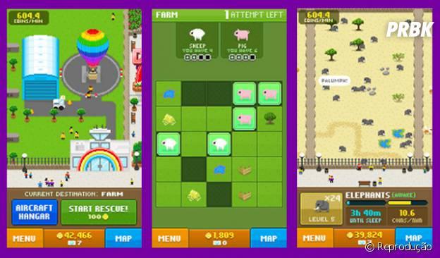 "Screenshots do aplicativo ""Disco Zoo"""