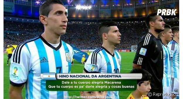 Hino zoeira da Argentina