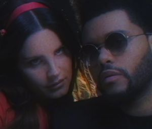 "The Weeknd e Lana Del Rey aparecem num super clima no clipe de ""Lust for Life"""
