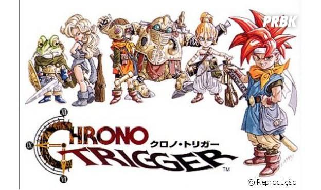 """""""Chrono Trigger"""" foi considerado um dos melhores jogos de todos os tempos"""