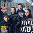 """De """"Game of Thrones"""": fotes de bastidores mostram os irmãos Starks juntos"""