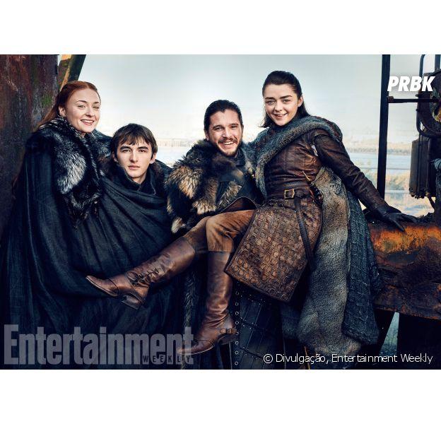 """""""Game of Thrones"""": todos nós amamos a família Stark!"""