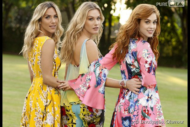 Sophia Abrahão, Giovanna Ewbank e Fiorella Mattheis falam da vida de uma it girl