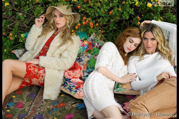 <p>Fiorella Mattheis, Sophia Abrahão e Giovanna Ewbank deram algumas dicas de moda</p>