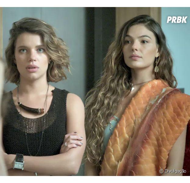 """Em """"A Força do Querer"""", Ritinha (Isis Valverde) e Cibele (Bruna Linzmeyer) são irmãs!"""