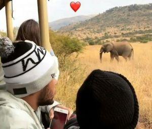 Neymar Jr e Davi Lucca fazem Safari pela África do Sul