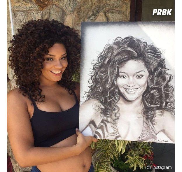 Juliana Alves é dona de um dos blacks mais lindos do Brasil!