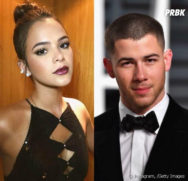 Bruna Marquezine e Nick Jonas trocam likes no Instagram