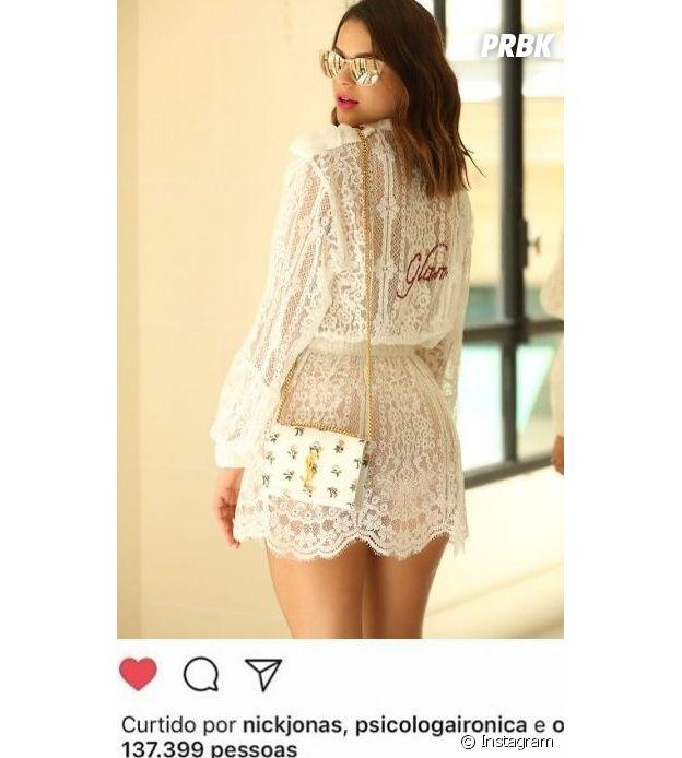 Bruna Marquezine ganha like de Nick Jonas no Instagram e fãs ficam malucos!