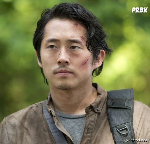 "Em ""The Walking Dead"", Glenn foi injustiçado, segundo Steven Yeun"