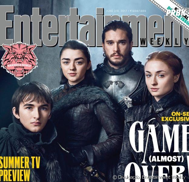 """De """"Game of Thrones"""": atores revelam qual Stark deveria ficar com o trono de ferro!"""