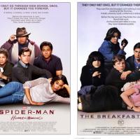 """De """"Homem-Aranha: de Volta ao Lar"""": novos cartazes inspirados em filmes dos anos 80 são liberados!"""