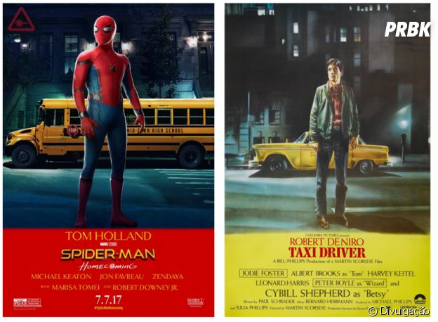 """De """"Homem-Aranha: De Volta ao Lar"""": já imaginaram como seria o filme se ele fosse parecido com """"Taxi Driver""""? Tenso!"""