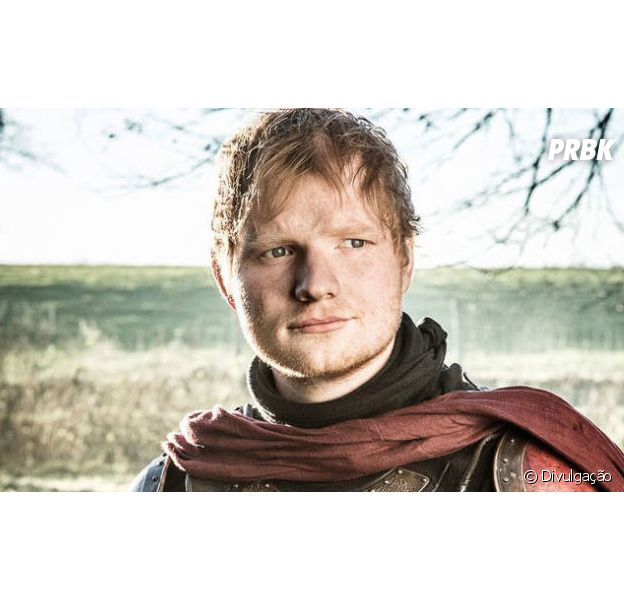 """Ed Sheeran apagou conta no Twitter após participação em """"Game of Thrones"""""""