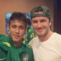 """David Beckham consola Neymar Jr. no Facebook: """"Fique melhor logo. Força!"""""""