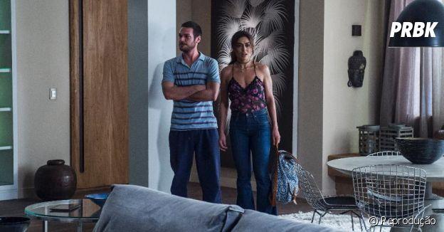 """Rubinho (Emílio Dantas) e Bibi (Juliana Paes)se mudaram para apartamento luxuoso financiado pelo crime em """"A Força Do Querer"""""""