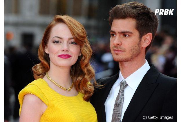 """De """"O Espetácular Homem-Aranha"""", Emma Stone e Andrew Garfield se envolveram durante as gravações do longa"""