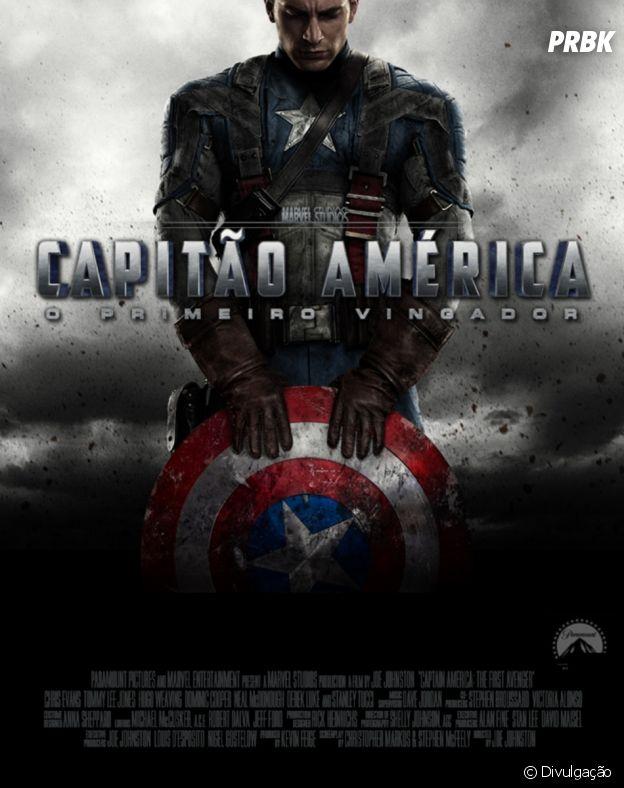 """""""Capitão América: O Primeiro Vingador"""", o prfimeiro filme da cronologia Marvel"""