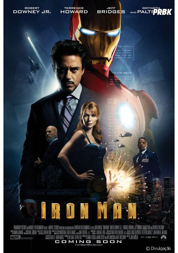 """""""Homem de Ferro"""" foi lançando em 2008"""