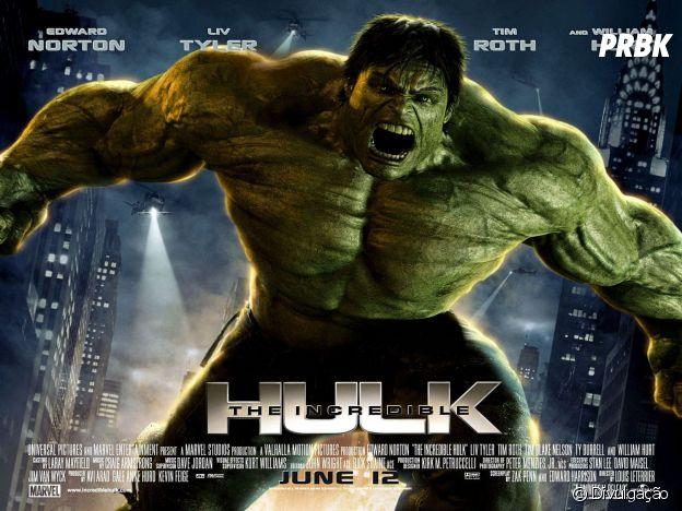 """O Incrível Hulk"" conta a história do cientista Bruce Banner (Edward Norton)"