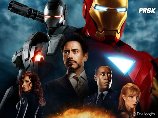 """Homem De Ferro 2"" marca o retorno de Tony Stark (Robert Downey Jr.) às telonas"