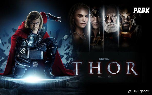 """O primeiro filme de """"Thor"""" foi lançado em 2011"""