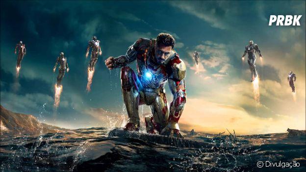 """Em """"Homem De Ferro 3"""", Tony Stark (Robert Downey Jr.) tem que lidar com seus medos"""