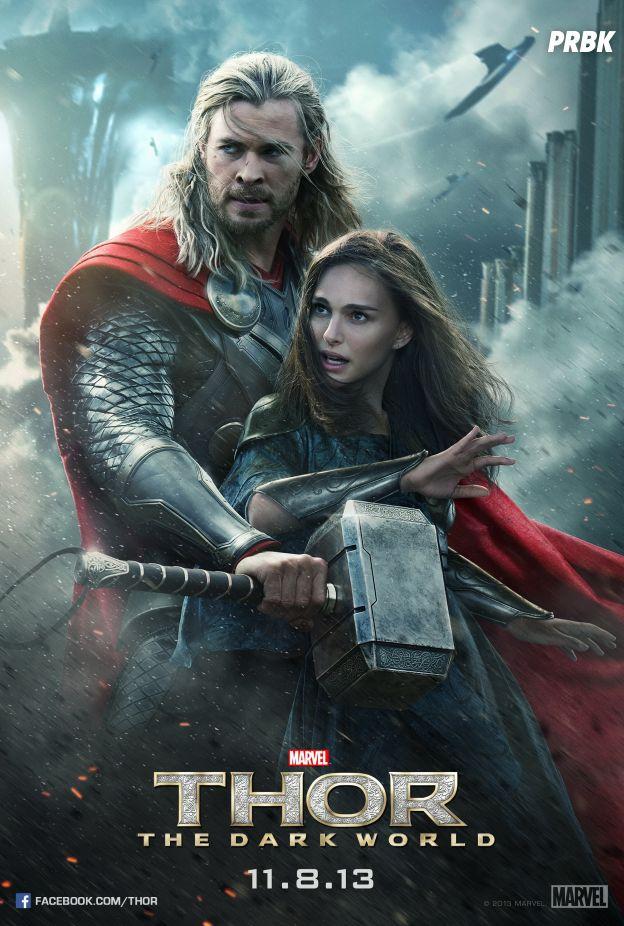 """Em """"Thor: O Mundo Sombrio"""", o super-herói precisa da ajuda de seu irmão Loki (Tom Hiddleston) para combater o mal"""
