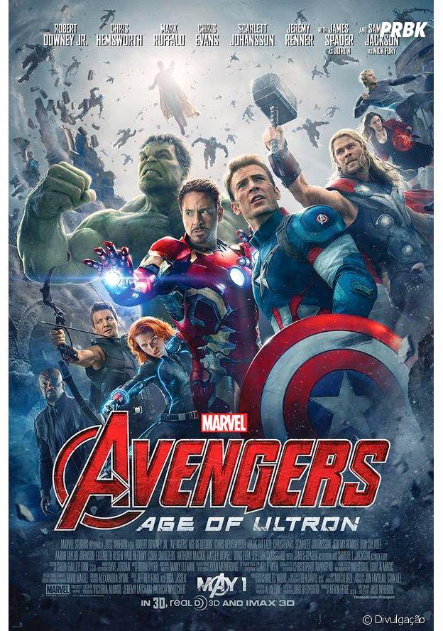 """""""Os Vingadores: Era de Ultron"""" marca a reunião dos super-heróis para novamente salvarem o planeta"""