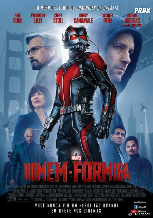 """Homem-Formiga"" conta a história de Steve Lang (Paul Rudd)"