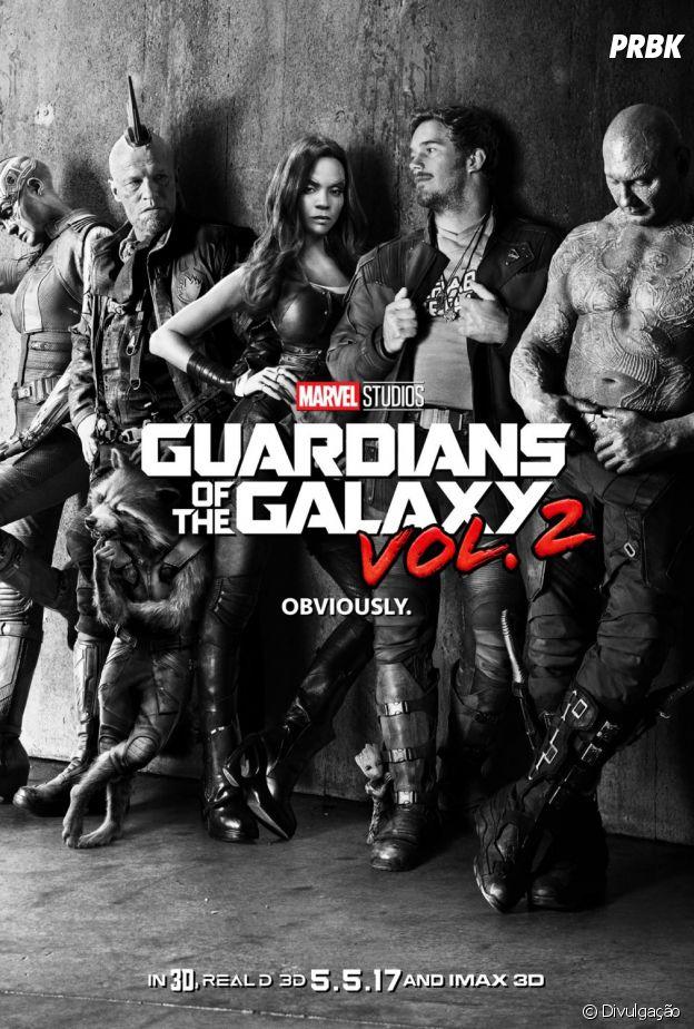 """""""Guardiões da Galáxia Vol. 2"""" é uma das continuações mais aguardadas do Universo Cinematográfico Marvel"""