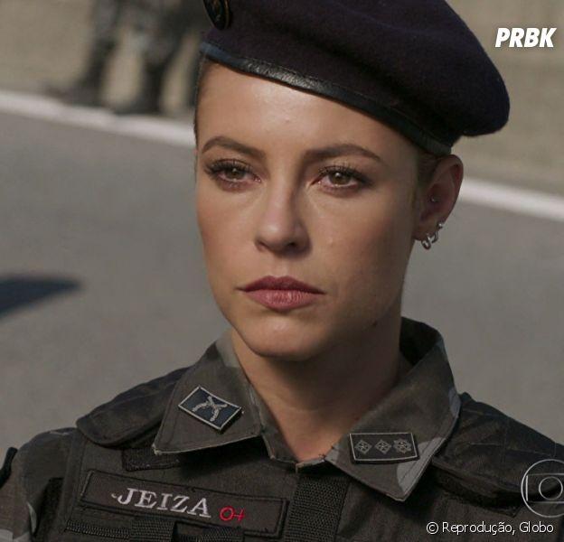 """Em """"A Força do Querer"""", Jeiza (Paolla Oliveira) sofrerá atentando encomendado por Rubinho (Emílio Dantas)"""