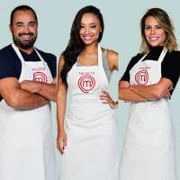 """No """"MasterChef Brasil"""": Michele, Valter e Deborah estão na semifinal do programa!"""