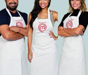 """Do """"MasterChef Brasil"""": Michele, Deborah e Valter formam o TOP 3 e vão para semifinal!"""