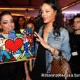 Anitta surge oferecendo produtos para Rihanna em memes