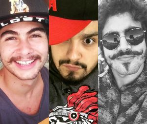 Veja 10 famosos que ficam muito gatos de bigode!